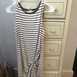 Midi casual t-shirt dress